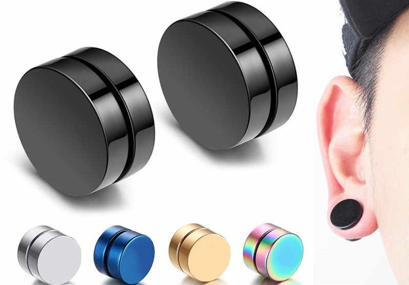 Magnetic earrings for men and women