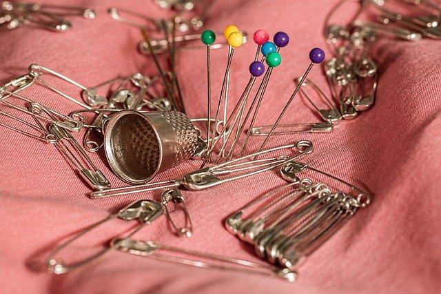 using saffety Pins As Erarrings
