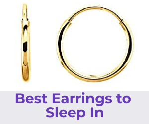 best earrings to sleep in