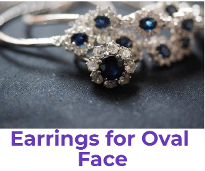 earrings for oval face shape