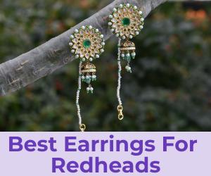 earrings for red heads
