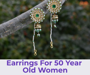 earrings for for 50 year old women