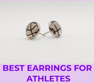best earrings for athletes and sports