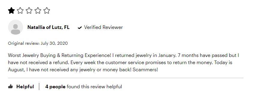returning to kay jewelers
